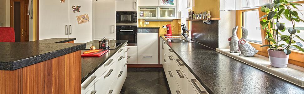 Küchen- und Arbeirtsplatten